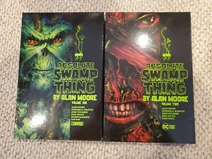ABSOLUTE SWAMP THING Vols. 1 2 by ALAN MOORE HARDCOVER - DC