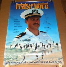 The Finest Hour Movie Poster 1992 Original Promo 39x27 Rob Lowe