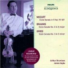 1-CD MOZART / BRAHMS / GRIEG - VIOLIN SONATAS - GRUMIAUX