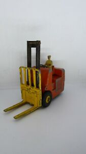 DINKY TOYS CHARIOT FOURCHES COVENTRY CLIMAX FORKLIFT N°597 A RESTAURER RESTORE
