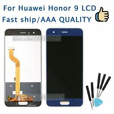 For Huawei Honor 9 Blue LCD Display Touch Screen Digitizer Assembly Replacement