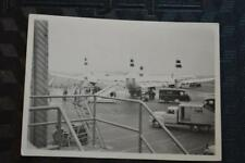 Vintage Photo TWA Airlines Lockheed Constellation Airplane Free Shipping 878