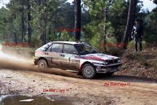 Miki Biasion Martini Lancia Delta Integrale Portugal Rally 1989 Photograph 1