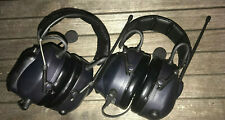 Lot of 2 Open Box 3M MT53H7A4600-NA Headset,Over the Head,Two Ear, LITECOM