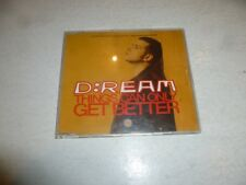 D:REAM - Things Can Only Get Better - 1993 UK 6-track CD single