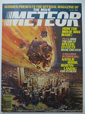 The Movie Meteor Offical Magazine 1980 Sean Connery Natalie Wood (M478)