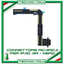 FLAT FLEX DOCK CONNETTORE DI RICARICA PER IPAD AIR NERO CARICA USB