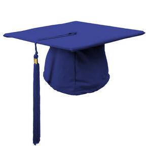 Children's Graduation Gown Accessories Hat/Cap Matt with tassels-- 3-6 year olds