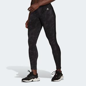 adidas Womens Sportswear Future Icons in Animal-Print Leggings black