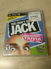 You Don't Know Jack PlayStation 3
