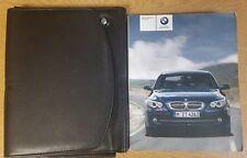GENUINE BMW 5 SERIES E60 HANDBOOK NAVI AUDIO OWNERS MANUAL 2007-2010 REF E-872