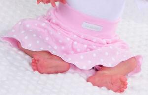 Baby Kinder Rock Röckchen mit Punkte Baumwolle 50 56 62 68 74 80 86 92