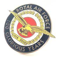 100 Glorious Years Of RAF Royal Air Force Large Enamel Lapel Centenary Pin Badge