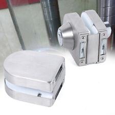 Glass Double Door Lock Stainless Steel Glass Door Lock 10mm-12mm with 3 Keys Usa