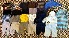 Baby Boys 3 Months Fall Winter Clothing Outfits Clothes Lot 25 Pieces 13 Outfits