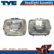 TYC Headlight Headlamps Assembly Left & Right 2PCS For Jeep Cherokee 1984-2001