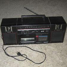 Vintage Retro Panasonic Boombox RX-C36 AM/FM Radio w/Detachable Speakers