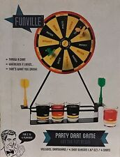 New Funville Drinking Party Dart Game For 2 To 4 Players  Lets The Fun Begin
