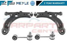 FOR VW GOLF MK4 97-04 FRONT SUSPENSION WISHBONE ARMS METAL STABILISER LINK LINKS