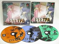 EVE The fatal Attraction TFA The BEST SLPM 87221 PS1 Playstation Japan Game p1