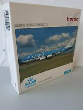 1:500 Herpa Wings 514422 KLM Cargo Boeing 747-400ERF mit Registration Limited