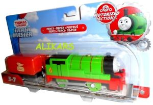 PERCY & Truck - Trackmaster Thomas & Friends Tank Engine Fisher-Price, Motorized