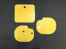 Number Backgrounds Honda CR 480 250 1983 RD YELLOW CR480 CR250