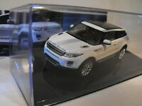MODEL RANGE ROVER EVOQUE WHITE DIE CAST LAND ROVER OFFICIAL PRODUCT SCALE 1:43