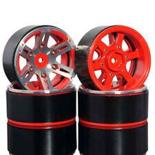 """4Pcs 1.9"""" 12mm Hex Beadlock Wheel Rims Alloy Metals For RC Axial Crawler SCX10"""