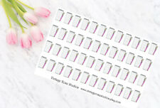 List Functional Planner Stickers, For All Types of Planners, Erin Condren