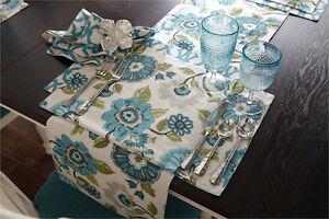 Francesca Floral & Geometric Reversible Cotton Placemat