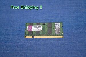 Kingston sodimm RAM 2GB 800MHz DDR2 PC2-6400 KVR800D2S6/2G