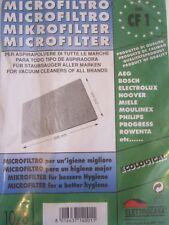 microfiltro cf 1 elettrocasa micro filtro aspirapolvere universale bosch miele