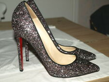 Christian Louboutin PIGALLE Paillettes Chaussures Taille 39.5 UK 6.5