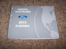 2013 Ford E-Series E250 Electrical Wiring Diagram Manual Commercial Recreational