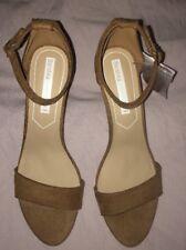 Bershka Suede Effect Sandal Heels Uk8