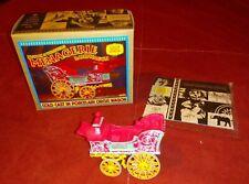 Bostock & Wombwell's Menagerie Bandwagon Porcelain Circus Wagon model w/ Box