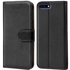 Handy Hülle Huawei Y6 2018 Case Schutz Tasche Cover Wallet Flip Etui Bookcase