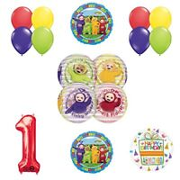 Teletubbies 1st birthday ORBZ Balloon Birthday Party supplies and Decorations