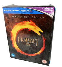 The Hobbit Trilogy Blu-Ray 3D - In Good Condition - BOX SET- FREE SHIPPING!!!!!
