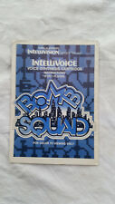 **manuel seul - manual only** BOMB SQUAD - Intellivision