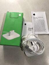 Apple iPod shuffle charge usb DOCK M9757G/A 1st Gen boxed excellent rare non utilisé