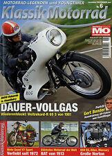 Klassik Motorrad 6/08 2008 Moto Guzzi V7 Sport Norton Atlas Bat BMW R 69 S Buell