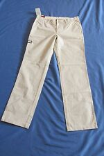 NEW MEN'S INDIAN TERRAIN MILITARY HEAVY DUTY KHAKI PANTS SIZE 34X33 BEIGE FLAT