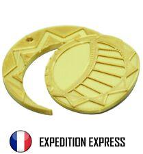 Médaillon Les Mystérieuses Cités D'Or 5cm Imprimé PLA Médaille Pendentif Collier