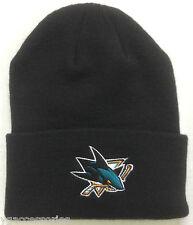 NWT NHL San Jose Sharks Reebok Cuffed Winter Knit Hat Cap Beanie NEW!