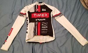 Castelli Womens cycling lightweight Jacket, M, Timex, Trek, Shimano, made in USA