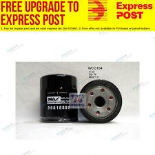 Wesfil Oil Filter WCO104 fits Holden Epica 2.0 i,2.5 i