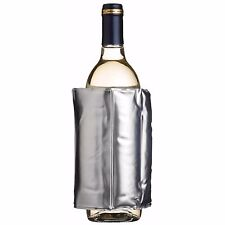 Barcraft Wrap Around Adjustable Wine Bottle Chiller Cooler Silver KCBCWRAP