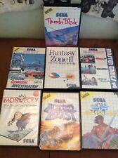 Lot de 7 Jeux Sega Master System (Fantasy Zone 2, Golden axe, Altered Beast)